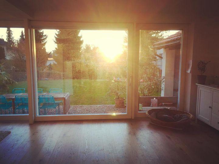 20 Uhr und die Sonne noch im Wohnzimmer! #ilike #welcome #summer