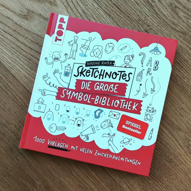 Let's sketch!  #firststeps #sketchnotes  Buch von @nadrosia